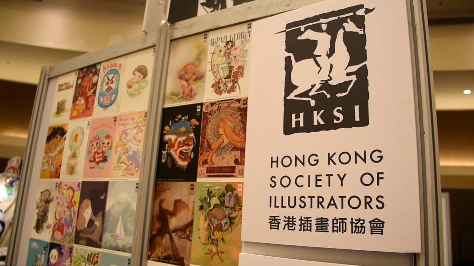 Happy to see you in The Hong Kong Illustration and Creative Show 2020
