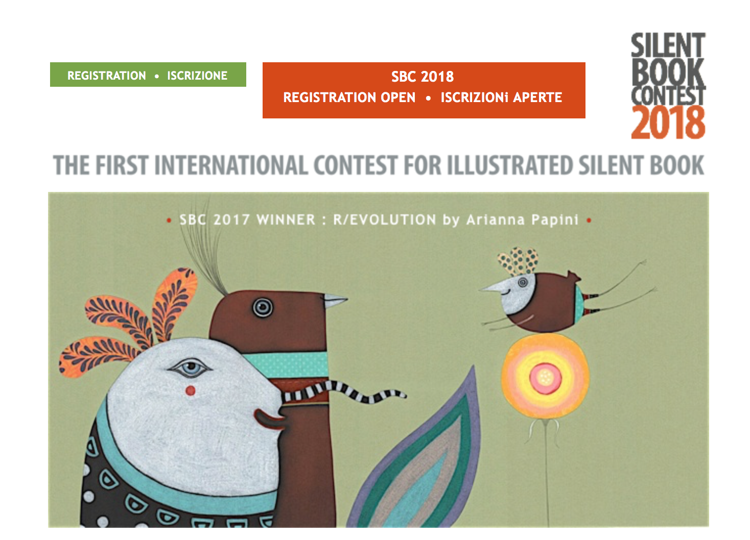The SILENT BOOK CONTEST 2018
