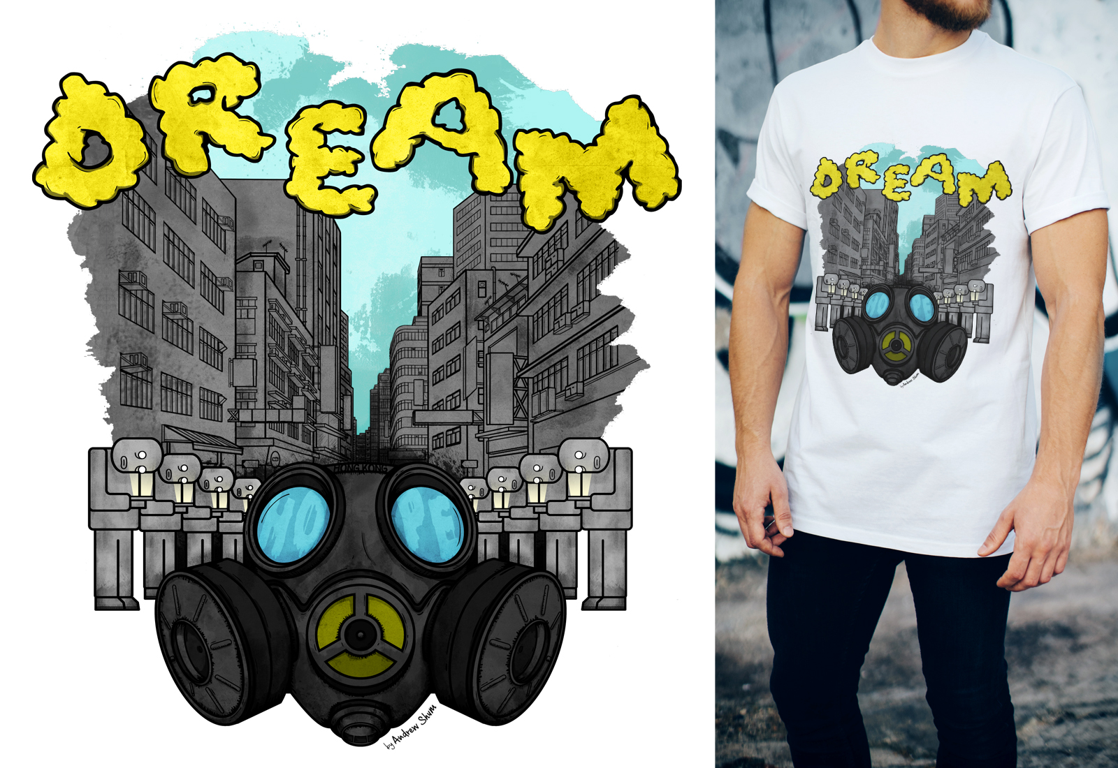 "Metropop 10周年聯同Ginger的""Look up, and Dream"" T-shirt設計比賽"