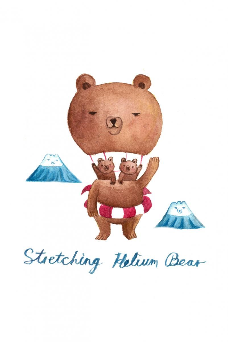 Stretching-Helium-Bear
