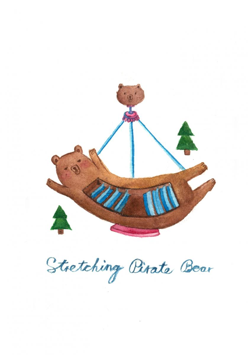 Stretching-Pirate-Bear