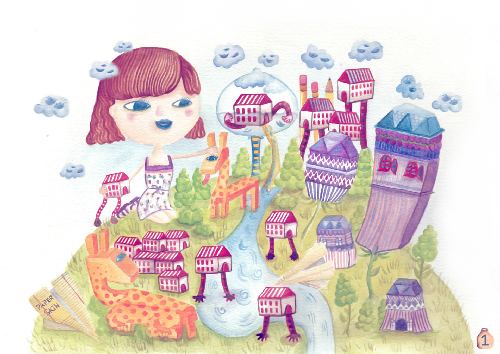 A Little Girl Land_Home
