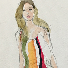 live drawing-Chloé