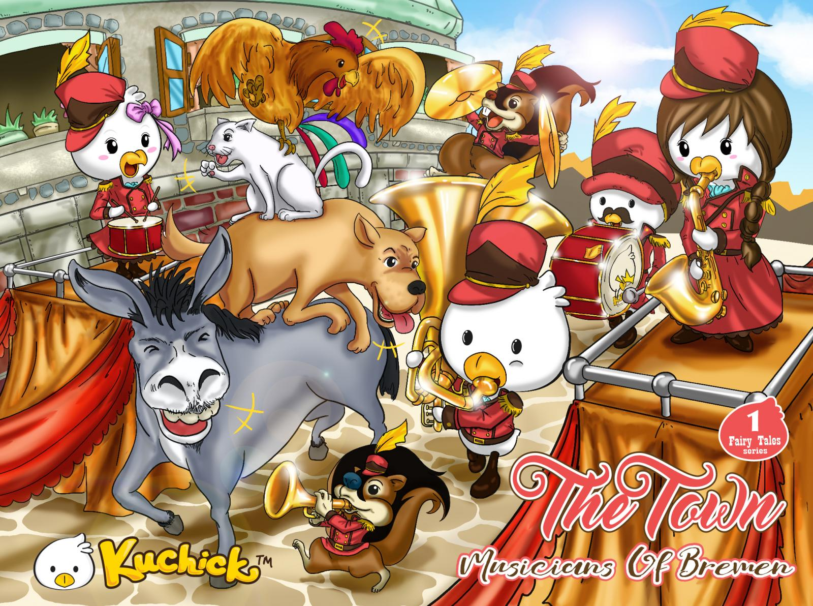 Kuchick  Fairy Tales Series 1 -The town musicians of bremen